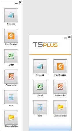 application panel customized