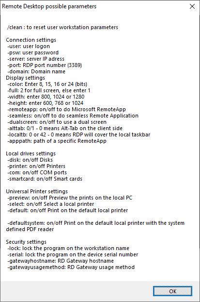 client parameters2