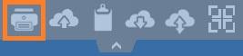 html5 top menu print