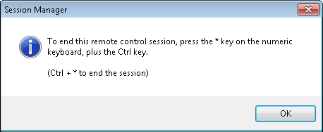 session manager remote