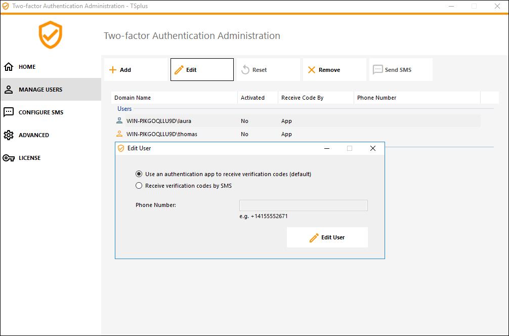 two-factor-authentication | TSplus