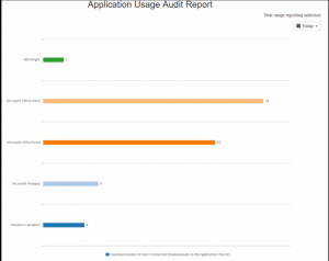 Application Usage Audit