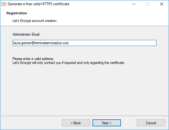 free certificate manager 2