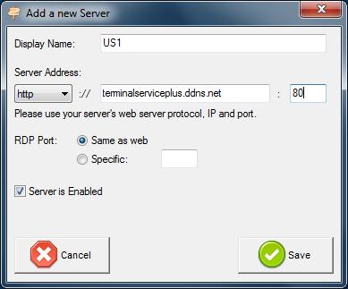 load balancing add server