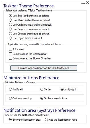 v11 customize taskbar