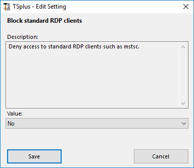 advanced block rdp clients