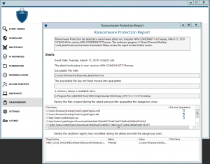 TSplus Advanced Security ransomware-protection-report