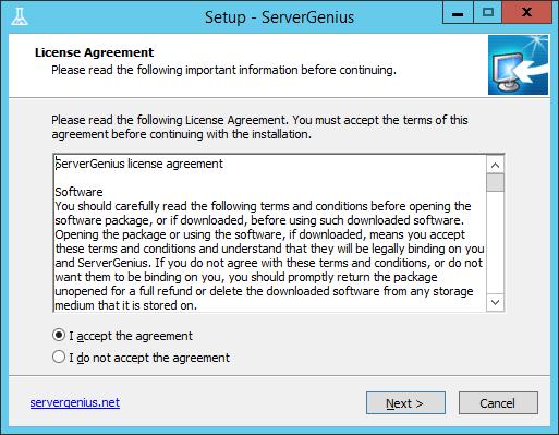 setup-Server-genius