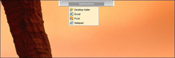 taskbar ontop