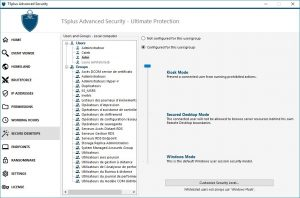 TSplus Advanced Security Secure desktop
