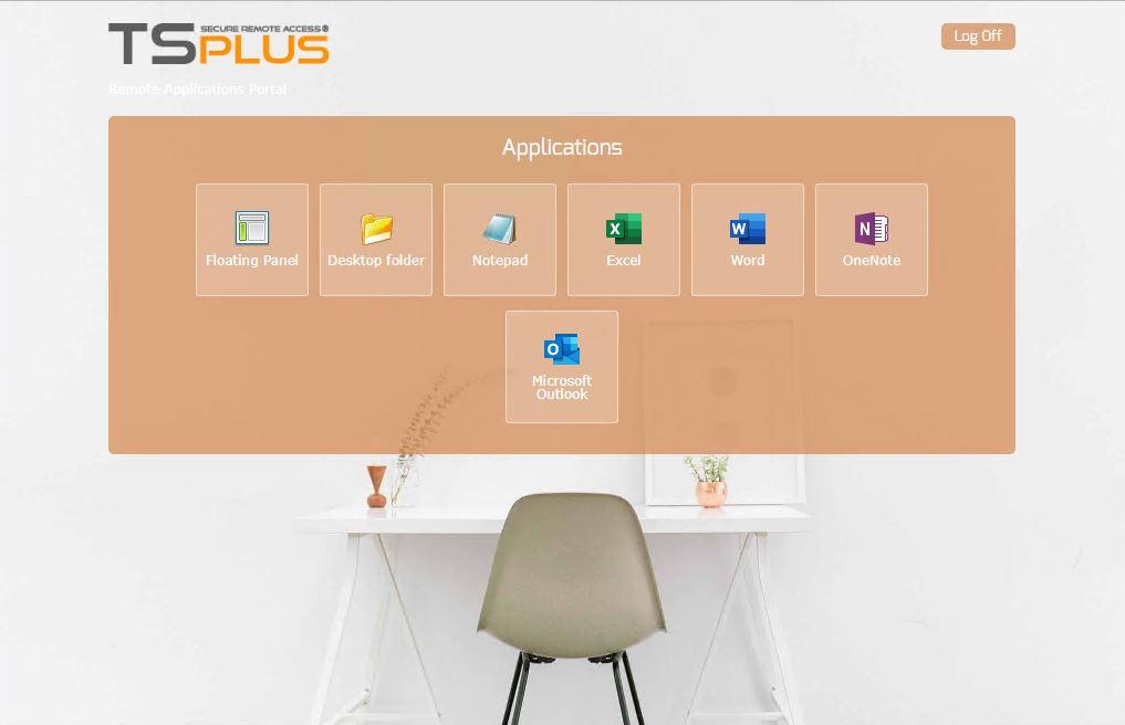 TSplus Application Web Portal