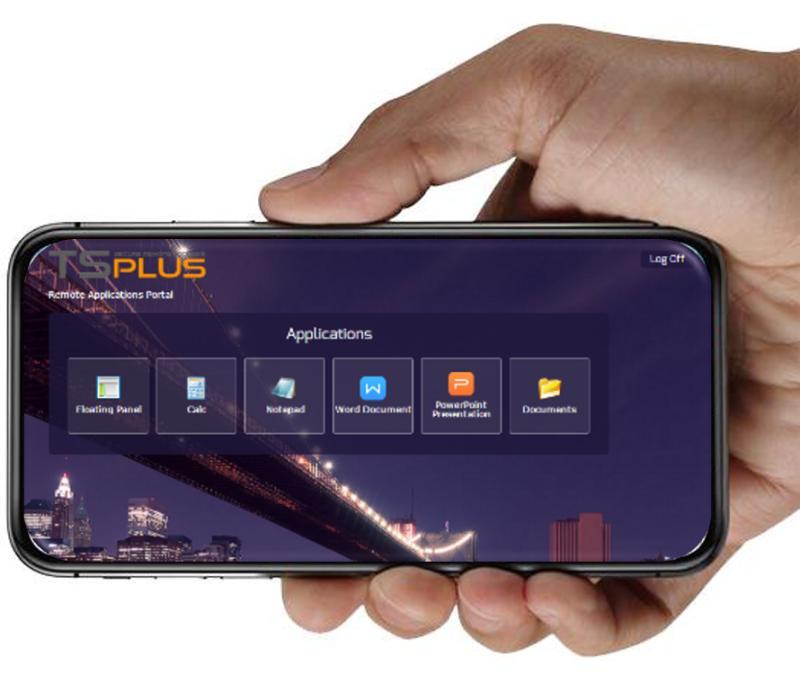 TSplus Progressive Web App For Native-Like Remote Work Experience