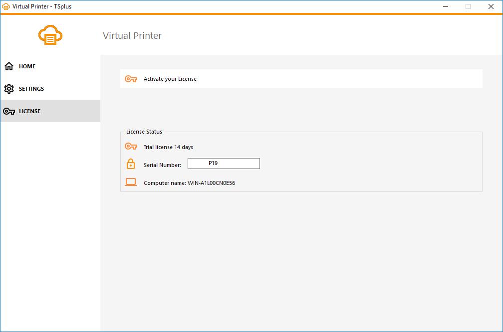 virtual printer license