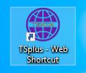 TSplus web app icon