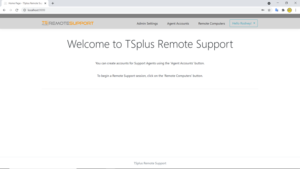 Read more about the article TSplus Remote Support Web Console