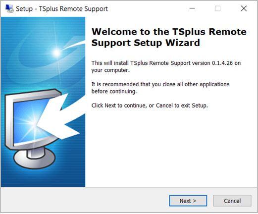 Setup remote support